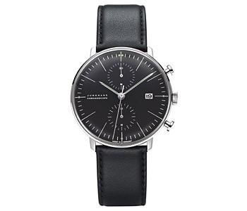 特別セーフ バイ ユンハウス クロノグラフ[ブラック] 4601 ビル マックス 【正規品】 送料無料 00 腕時計 ウォッチ MAX BILL 027-その他腕時計