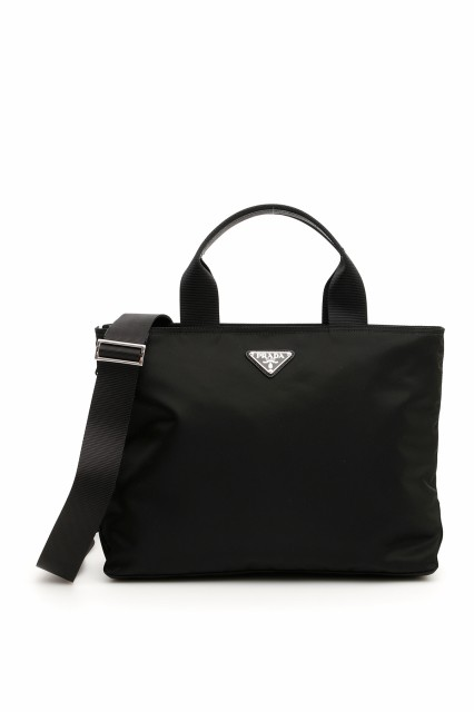 送料無料 prada プラダ shopper with strap 1bg867vooov44f0002の