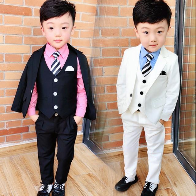 fe26a19505931 子供 スーツ フォーマル タキシード 男の子 キッズ 七五三 入学式 卒 業セット 卒業スーツ ピアノ発表