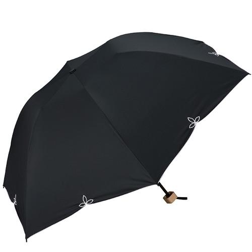 w.p.c 晴雨兼用 折りたたみ日傘 バードケイジワイドスカラ 801-656 ブラック