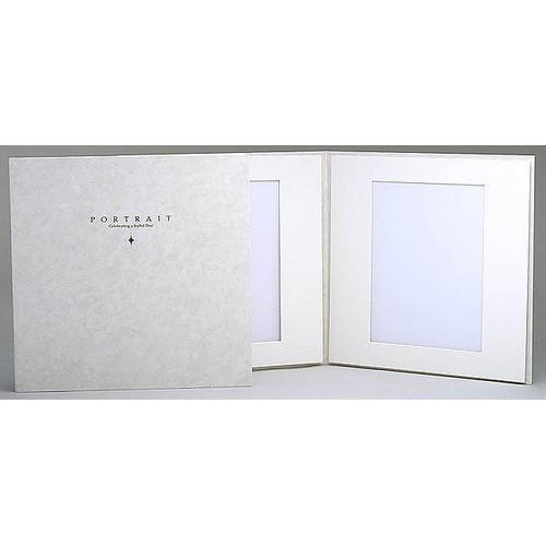 ハクバ 台紙 スリムスクエア 2面 6切 ホワイト