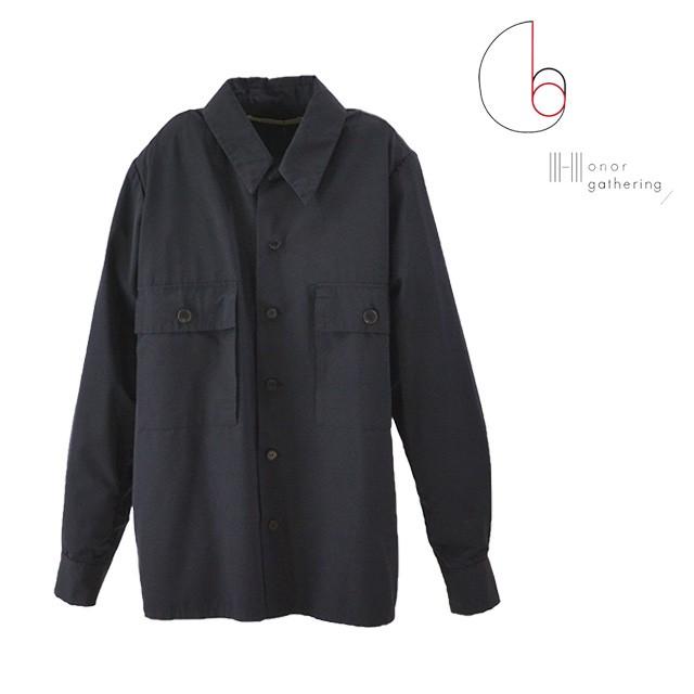 【国内正規品】 Honor gathering/オナーギャザリング ダブルポケットシャツジャケット メンズ シャツ, ヘルシー救急BOX ff521820
