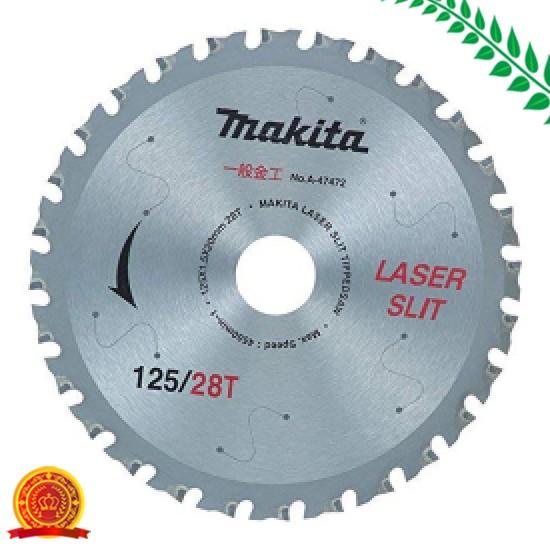 マキタ(Makita) チップソー 充電用金工用 125-28T A-47472[ゆうパケット対応商品][選択]