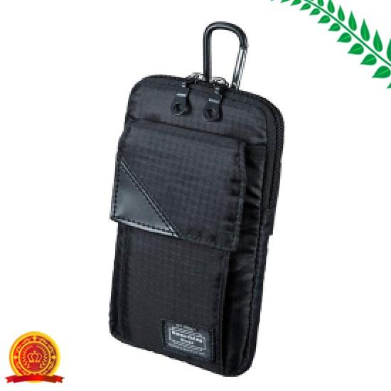 サンワサプライ スキミング防止ポケット付きマルチガジェットケース(L)[選択]