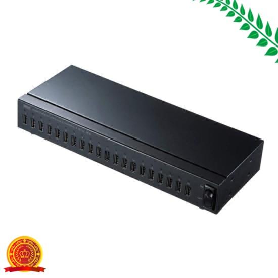 当店だけの限定モデル サンワサプライ USB2.0 20ポートハブ -2HCS20[選択], 工房 おべべや 56645ae5
