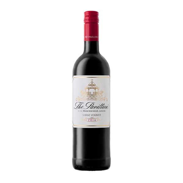 ボッシェンダル ザ パヴィリヨン   シラーズ ヴィオニエ 750ml [南アフリカ/ウェスタン・ケープ/赤ワイン/1660]