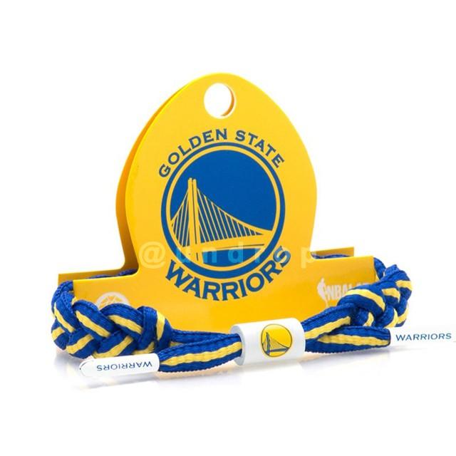 国内未発売 NBA シューレース ブレスレット / Warriors ウォーリアーズ / RASTACLAT ラスタクラット / アクセサリー