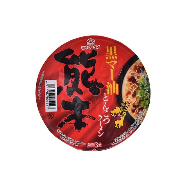 マルタイ 黒マー油とんこつ熊本ラーメン 76g