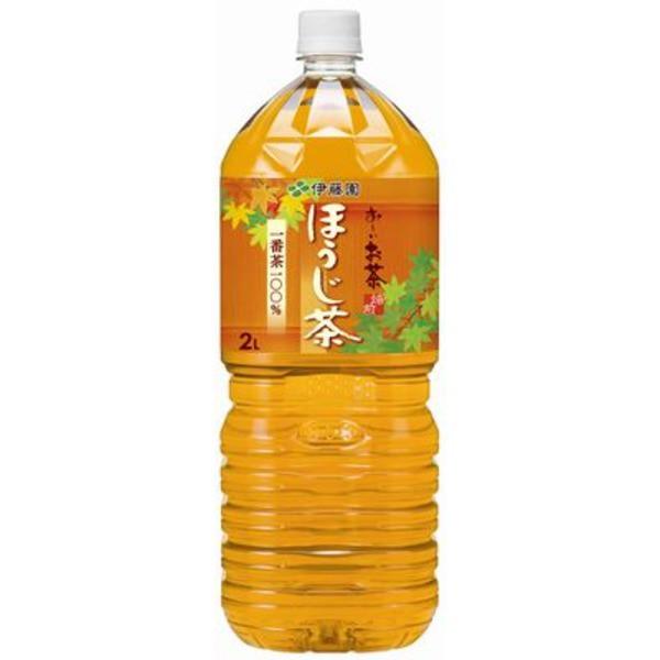 【まとめ買い】伊藤園 おーいお茶 ほうじ茶 ペットボトル 2.0L×12本(6本×2ケース) 送料込!