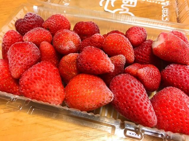 冷凍イチゴ(ヘタなし)単品
