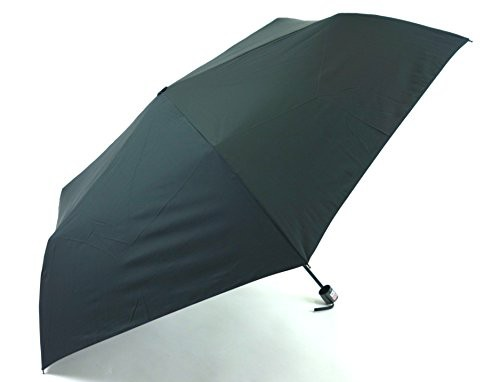小宮商店 強い雨でも効果は持続 65cmミニ 耐久撥水素材キューダス生地 耐風骨使用 大判 (黒)