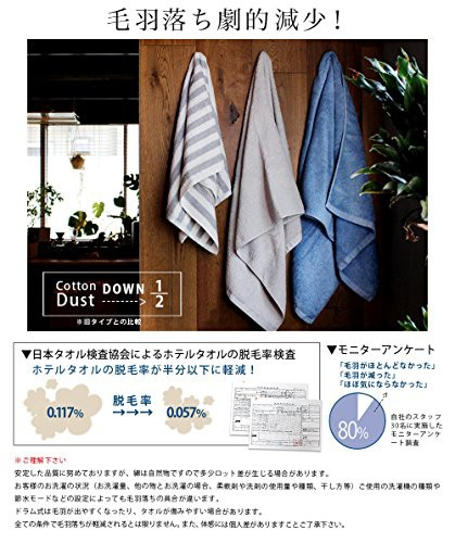hiorie(ヒオリエ) 日本製 ホテルスタイルタオル ミニバスタオル 4枚セット ピーチブロッサム(選べる18色) 瞬間吸水