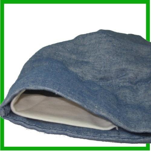 バンダナ帽子 オーガニックコットン医療用帽子 レディース 抗がん剤治療用 バンダナキャップ グレー