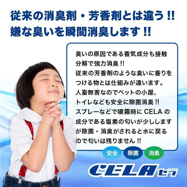 次亜塩素酸水CELA(セラ)水5リットル+300mlスプレーボトル1本セット