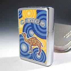 ZIPPO ジッポ ライター  内部のユニット彫刻無料 Camel Bubble タバコ柄 キャメル ライター