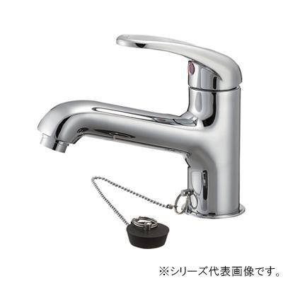 専門店では 三栄 SANEI U-MIX シングルワンホール洗面混合栓 K4710JV-13, 翌日発送の名作屋 e09282aa