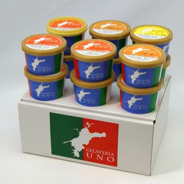 ジェラート シャーベット 6個セット おまかせ愛媛産 柑橘ジェラート12個詰合せ ギフト