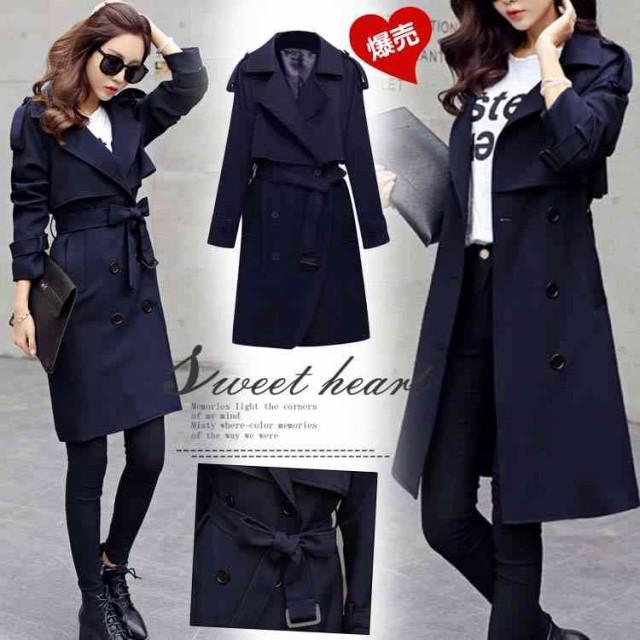 トレンチコート レディース スプリングコート 新作 テロンチ 春 コート ロングタイプ 大きいサイズ 上品コート ロングコート