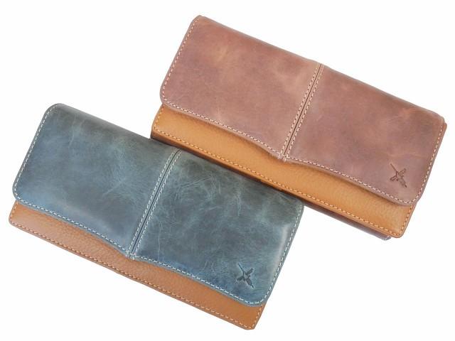 9ad2b33589b2 AIN SOPH アインソフ 牛革 カブセ 長財布 カード30枚収納 DA499-HPの通販 ...