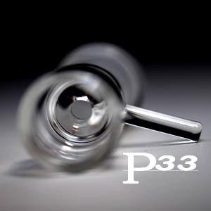 パイレックスP3.3製ガラスボング火皿パーツ