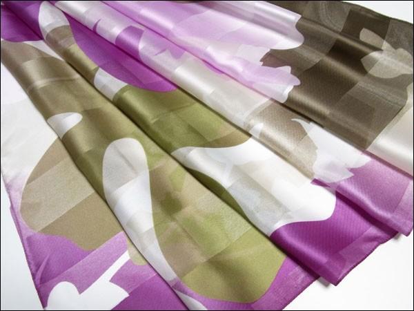 ●送料込み■イタリア製□花・葉・プリント・スカーフ・ストール・ショール・タウン・プレゼント・日よけ・紫外線よけ