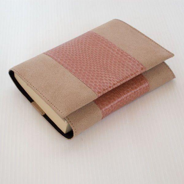 ウミヘビ革 ブックカバー