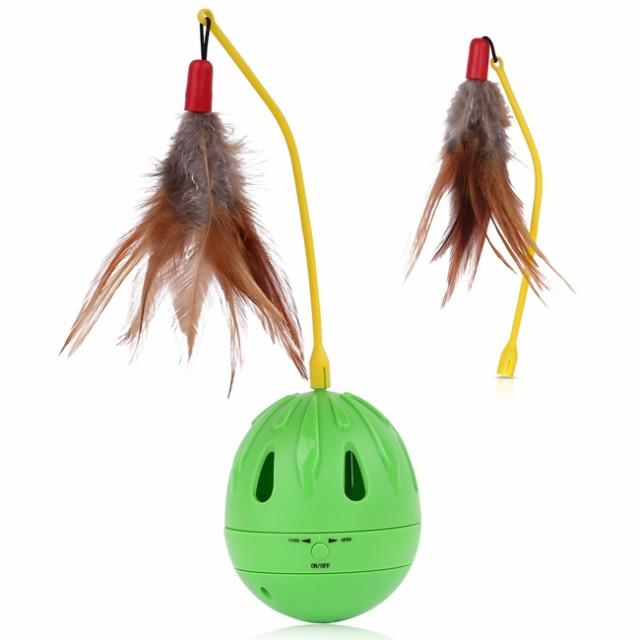 猫おもちゃ Pawaboo タンブラー型 電動式 ネズミをキャッチ練習用 猫用おもちゃ 電動おもちゃ 猫用品 ネコ遊び 猫のお好みじゃらし