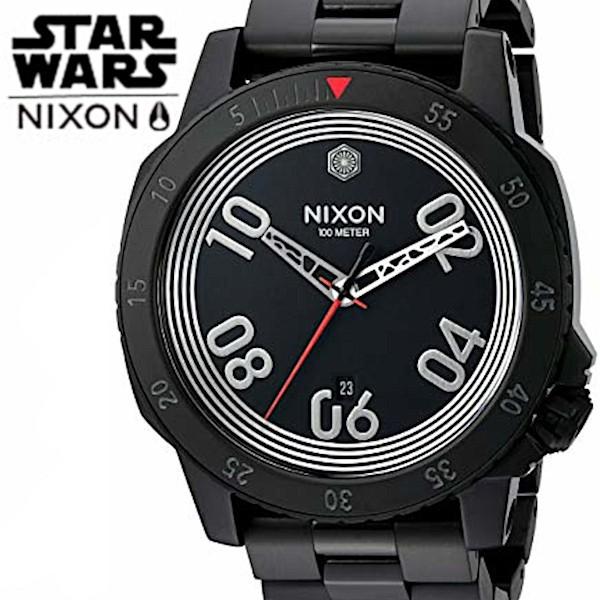 2019公式店舗 ブラック a506 STAR 【海外正規品】【送料無料 sw2444 NIXON スターウォーズ WARS】二クソン 00 WARS あす楽】【NIXON STAR-腕時計メンズ