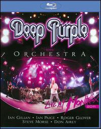 Deep Purple With Orchestra / Live At Montreux 2011【2011/11/8】(輸入盤ブルーレイ) (ディープ・パープル)