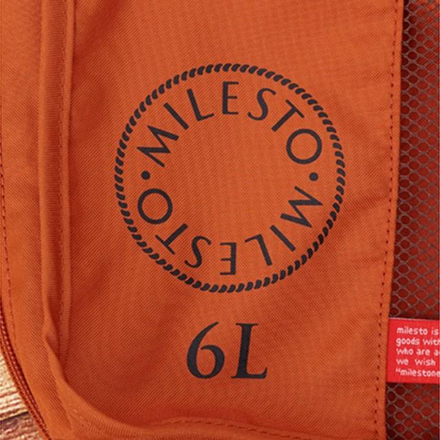 【6Lサイズ】MILESTO ラゲッジオーガナイザー 6L【 MILESTO ミレスト ポーチ トラベル 収納 パッキング 仕分けケース 衣類 衣装袋 旅行