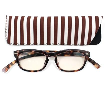 ネックリーダーズ ウェリントン(べっ甲ブラウン) 老眼鏡
