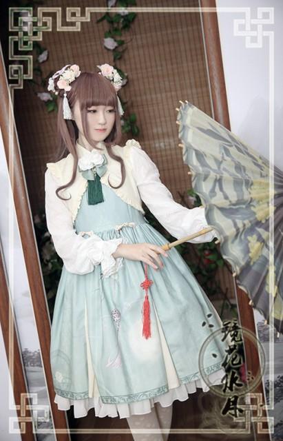 ロリータドレス Lolita ロリィタ ロリータ Chess Story 華ジャンスカ