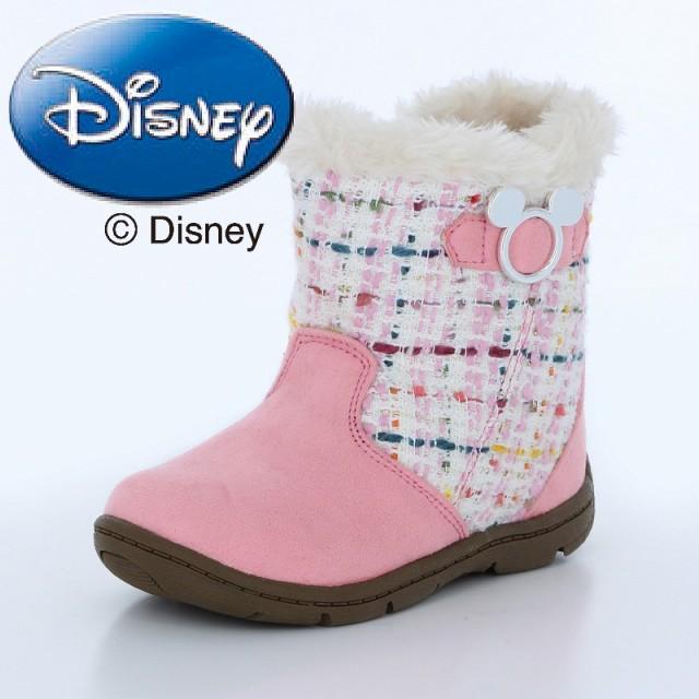 b4e66a0b10fed ディズニー  セール  子供靴 キッズブーツ DN C1222 ピンク ディズニー キッズブーツ