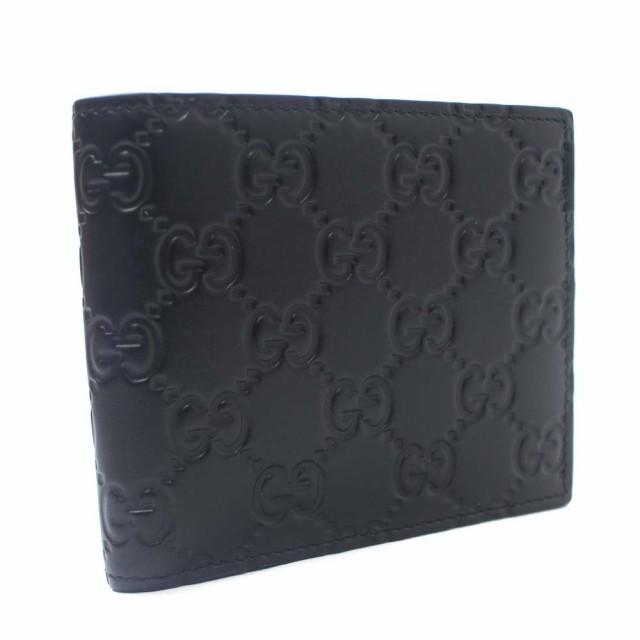 楽天 【 グッチ】GUCCI グッチ GG柄 グッチシマ 二つ折り財布 メンズ ブラック 二つ折り財布 シマレザー メンズ 365467, ブランドリサイクルショップPRISM:c5f90b41 --- kzdic.de