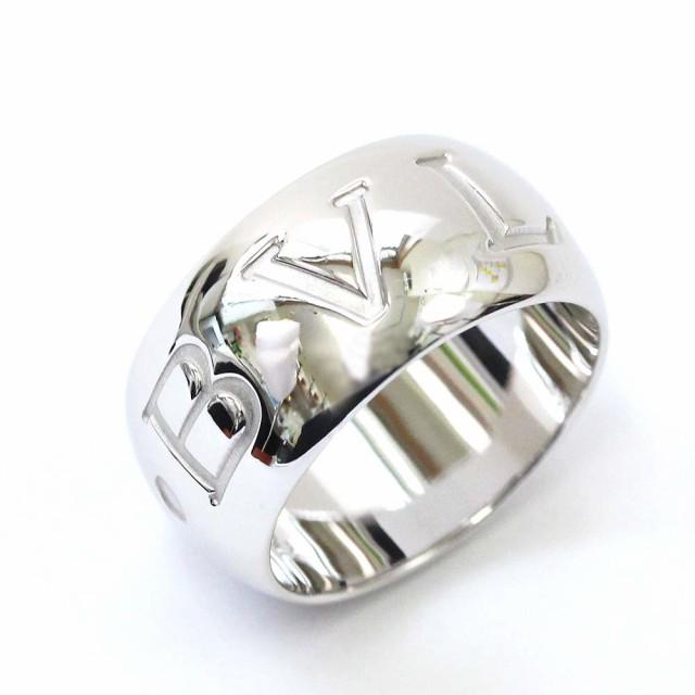 【新発売】 ブルガリ モノロゴリング リング・指輪 ユニセックス ジュエリー ホワイトゴールド, 赤い屋根ワークス 4f445300