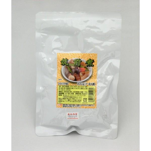 レトルト 和食 惣菜 和風煮物 筑前煮 (200g/230kcal) 【常温保存 1年】【湯煎/レンジ】