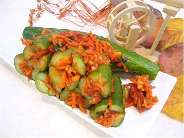 韓国木浦の「お母さんの味」をお届します 国産オイキムチ 2kg