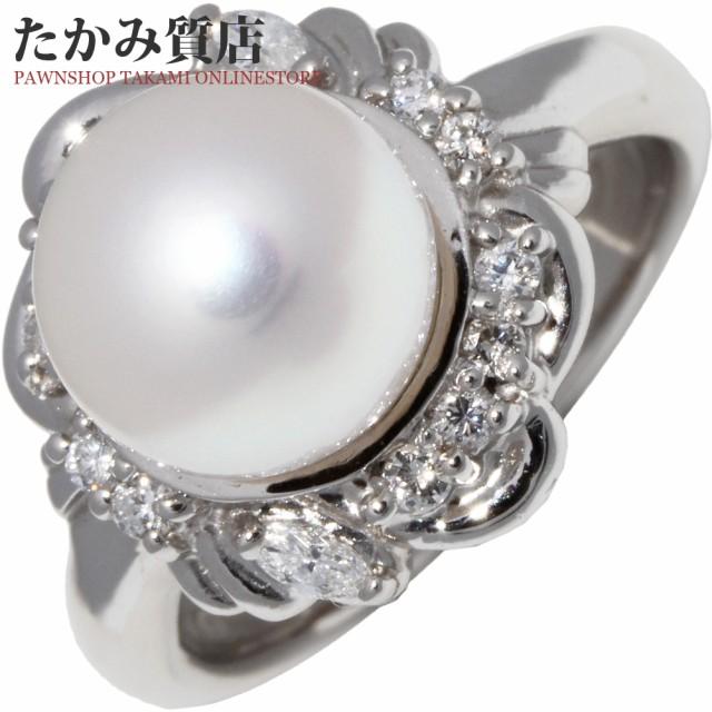 超可爱 Pt900 パール(真珠)8.9ミリ Pt900/ダイヤ0.23ct 指輪(リング) 指輪(リング) 9号, 眼鏡達人:b078d149 --- chevron9.de