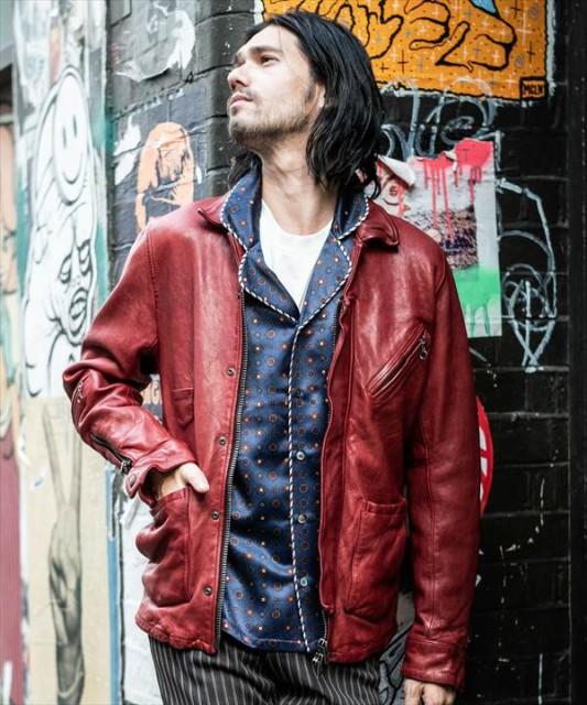 【最安値】 glamb グラム Durden leather JKT ダーデンレザージャケット, 高崎町 fdf8f449