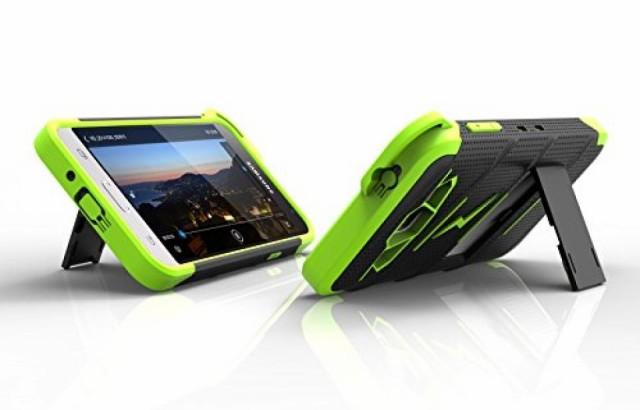スマートホンケース・カバ‐ Samsung Galaxy J3 Case, Zizo [Bolt Series] with FREE [Galaxy J3 Screen Protector] Kickstand [Militar