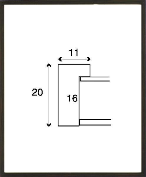 デッサン額縁 フレーム 水彩額縁 スケッチ額縁 木製 正方形の額縁 6708 350角サイズ