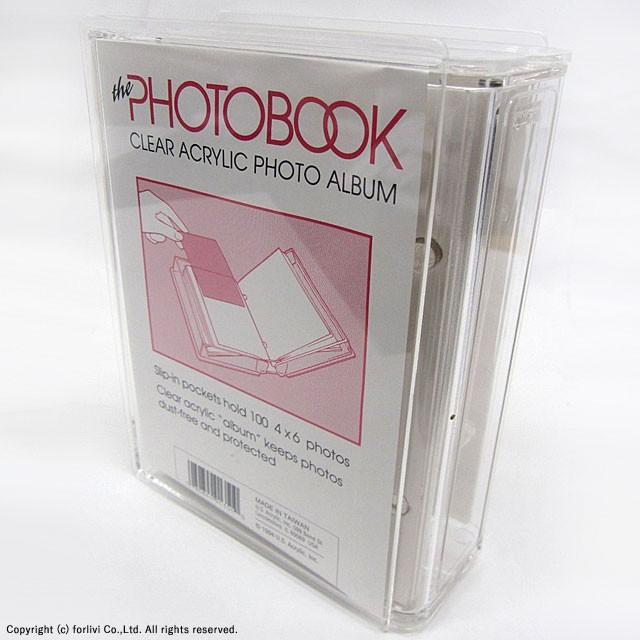 フォトブック ハガキサイズ フォトアルバム フォトファイル ポケットアルバム ポストカードホルダー 写真入れ 大容量 アクリル製
