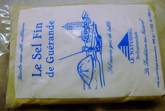 フランス ゲランドのミネラルたっぷりの塩 セルファン(細かい塩) 500g