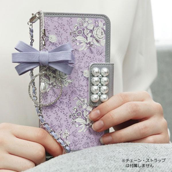 MrH(ミスターエイチ)スマホウォレットケース/ガーデンエイジ・ヴァイオレットBy iphone6s
