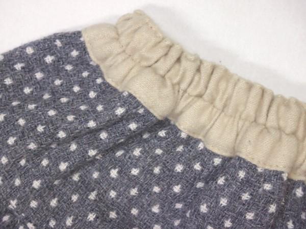 子供服【Souris】スーリー ドットドビースカート