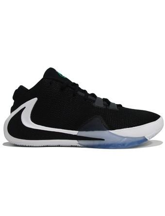バスケットシューズ バッシュ ナイキ Nike Zoom Freak 1 Blk/Wht/L.Grn |au Wowma!(ワウマ)