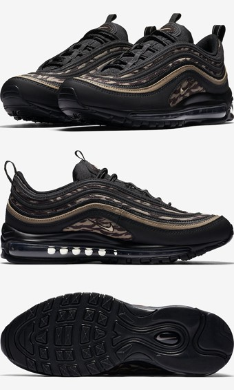 Nike Air Max 97 Special Edition Sneaker in Metallic Gold