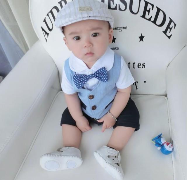 626e15a5a7789 半袖 ロンパース ベビースーツ フォーマル カバーオール・ロンパースバーオール 新生児 幼児 七五三 出産祝い 記念