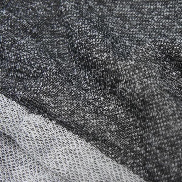 ショートパンツ ボトムス 黒 ブラック 霜降りカラー ネコポス可
