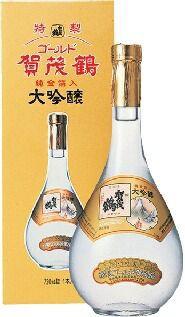 賀茂鶴酒造 特製ゴールド  賀茂鶴  720ml,hn 化粧箱入